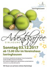 plakat adventskaffee 2017